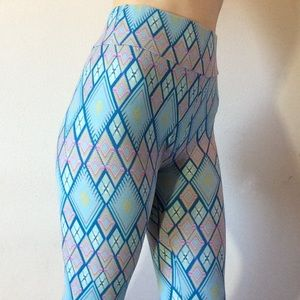 Lularoe Diamond 💎 One Size Leggings Skinny Soft